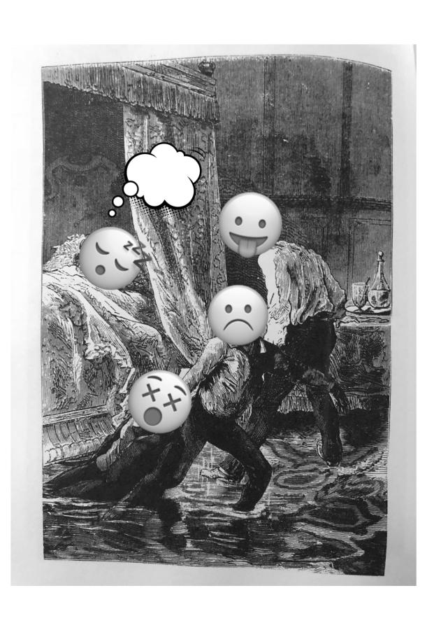 """Max Ernst's """"Une Semaine de Bonté: Lundi, l'eau"""" (writingprompt)"""